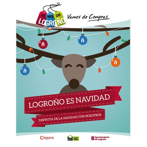 Campaña de Comunicación de Navidad para el comercio de Logroño 2015-2016