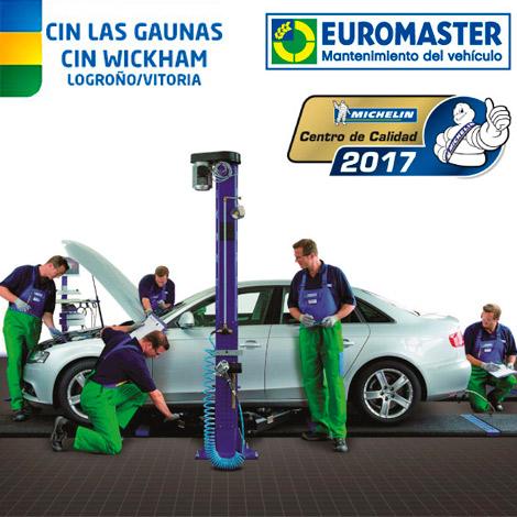 Euromaster CIN Las Gaunas en Logroño y Vitoria